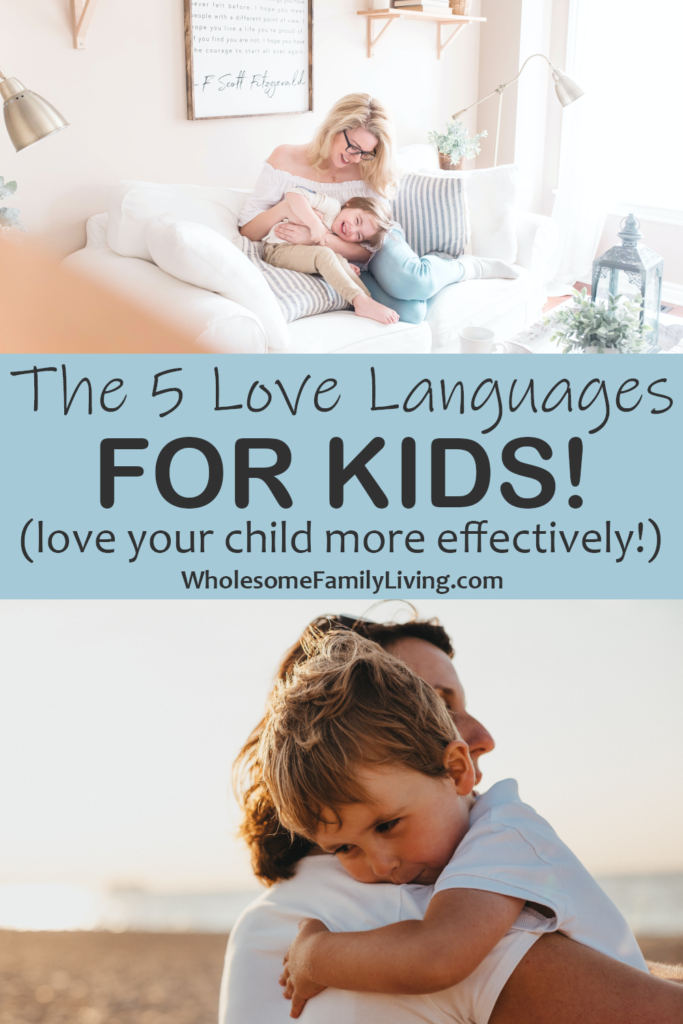 5 love languages kids pin