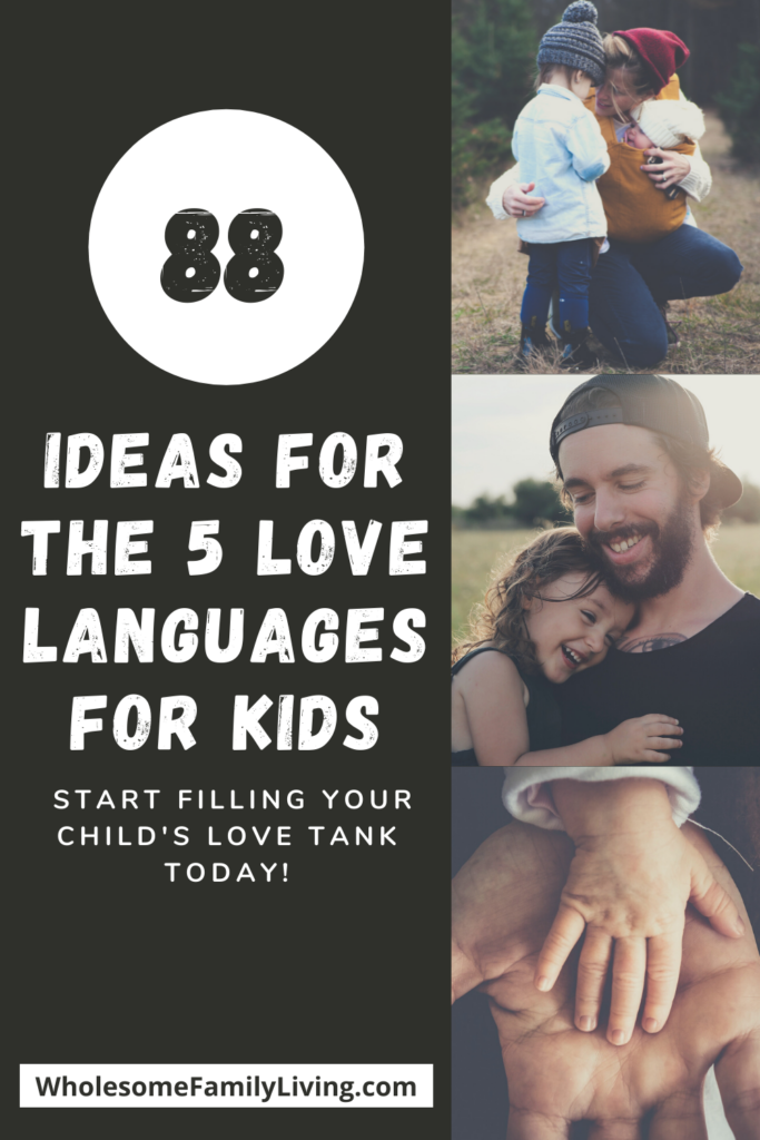 88 ideas for the 5 love languages