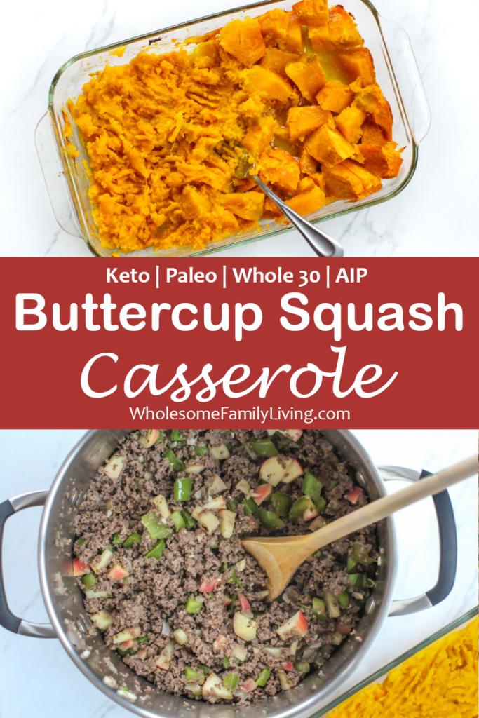 buttercup squash casserole pin