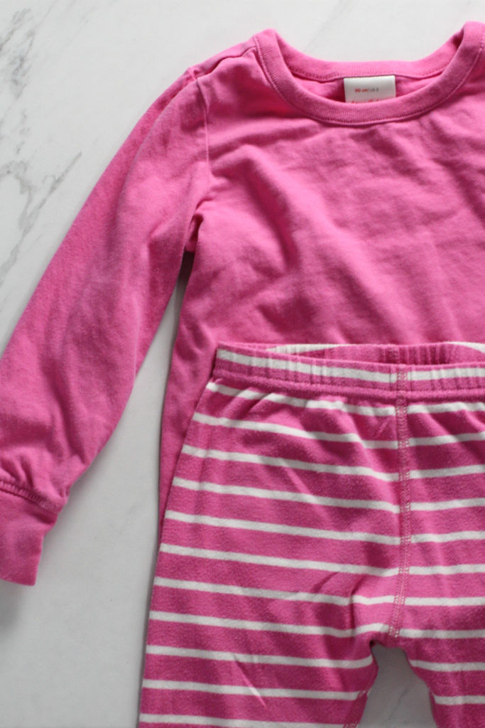pink hanna andersson outfit