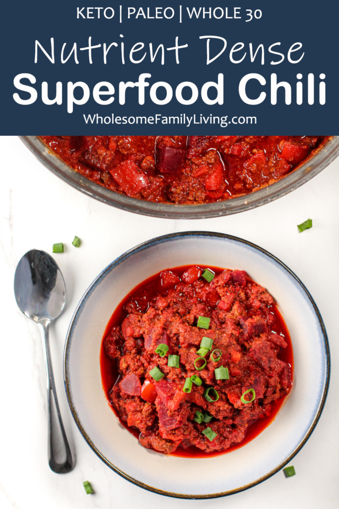 Superfood Chili Pin