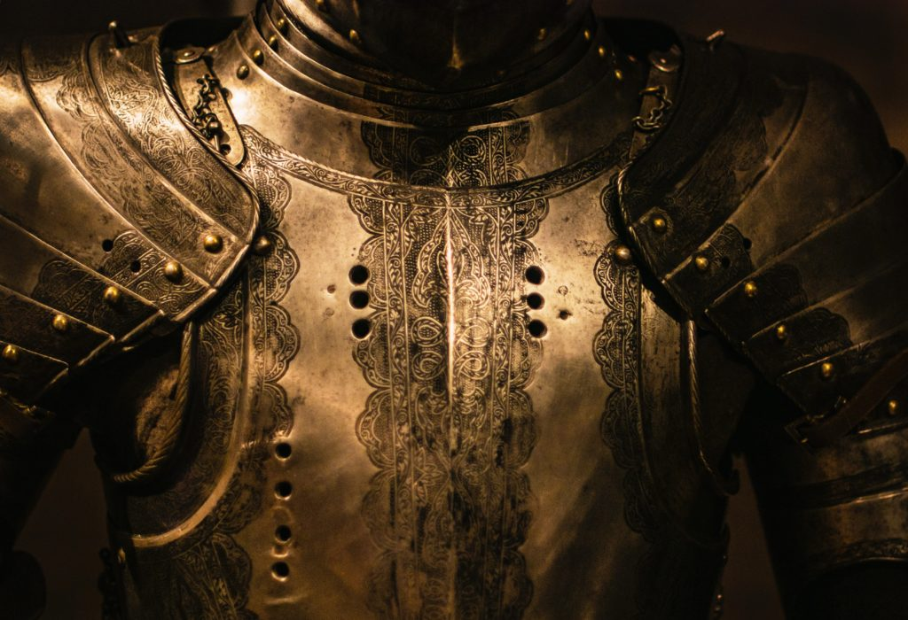 breastplate of armor