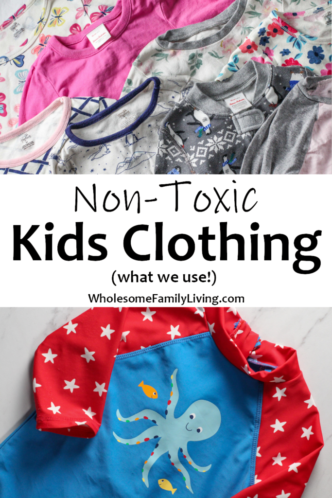 non toxic kids clothing split pin