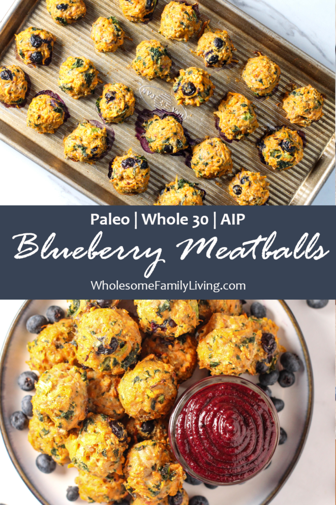 Blueberry Meatballs Pin
