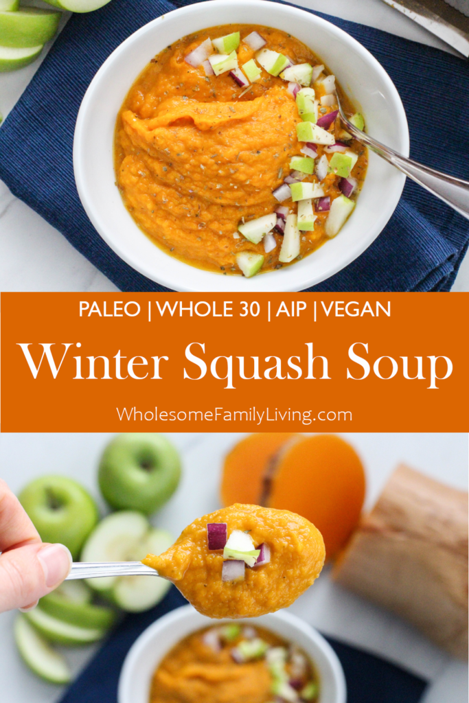 winter squash soup pin