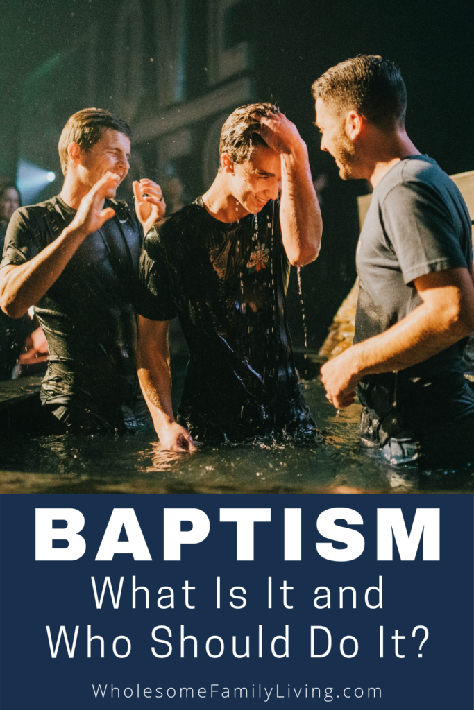 baptism pin