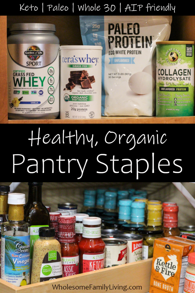Healthy shelf stable foods part 1 pin