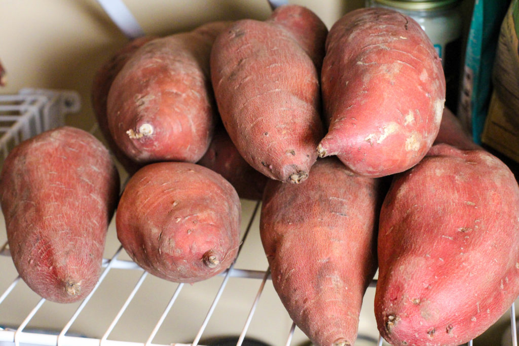 healthy shelf stable sweet potatoes