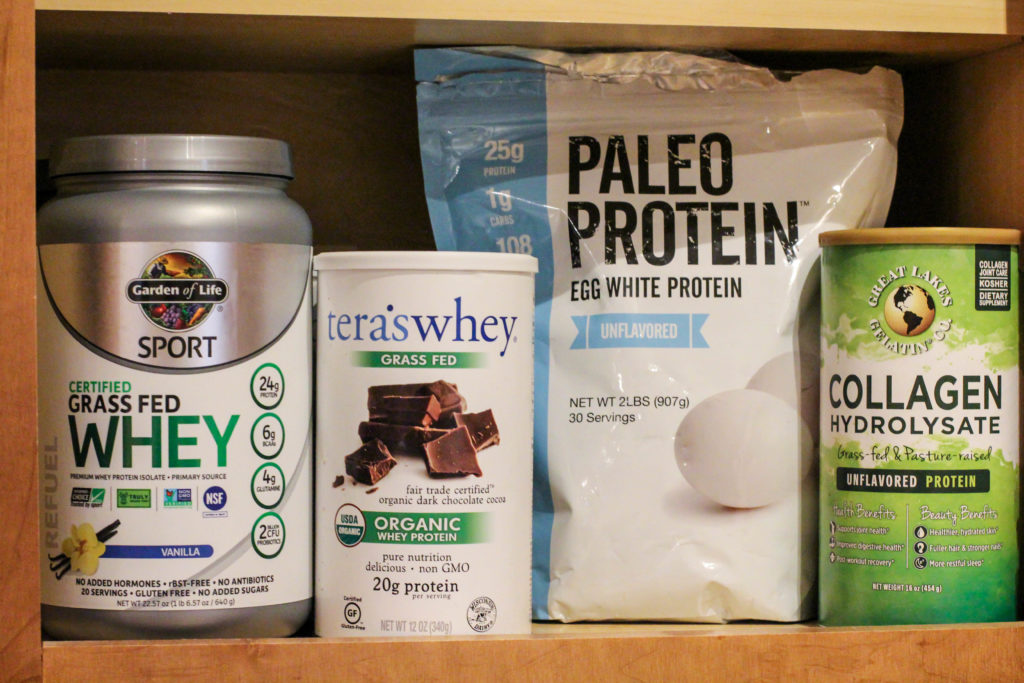shelf-stable protein powder sources