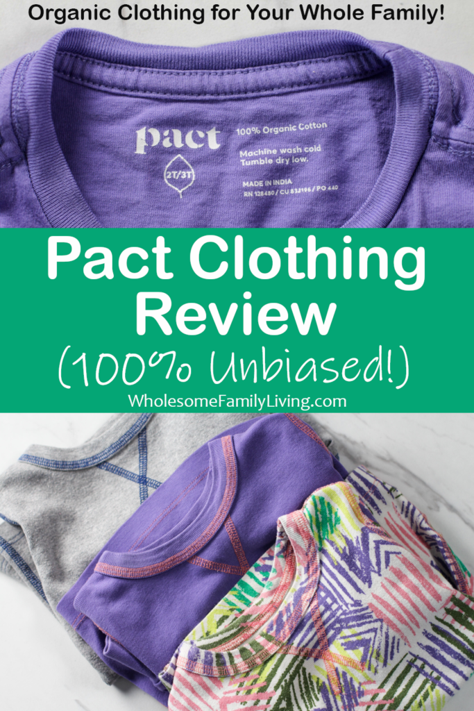 Pact Clothing review pin
