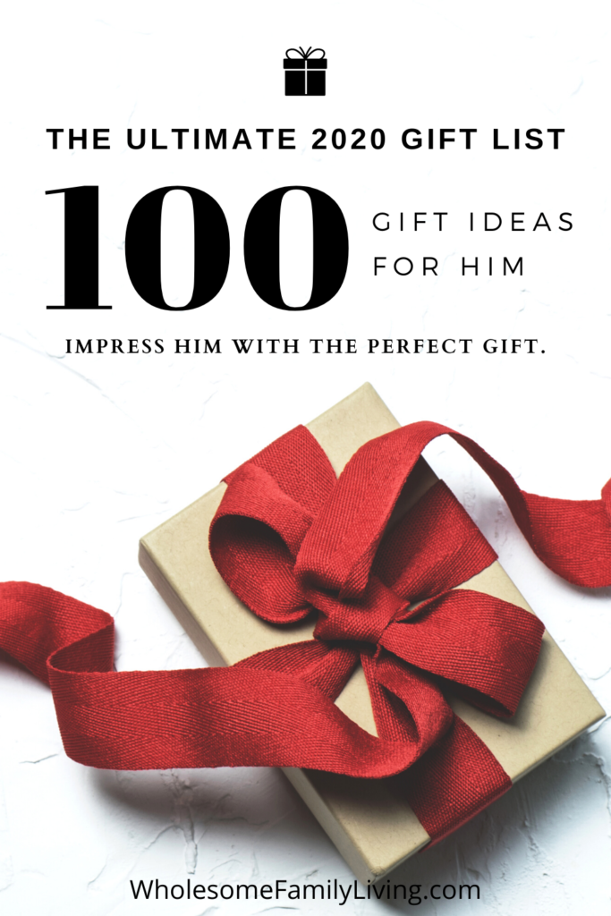 100 Gift for Him Ideas 2020